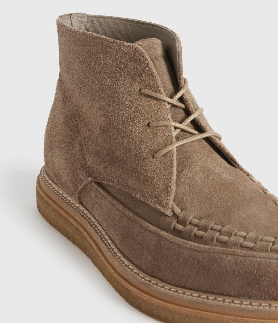Men's Leon Suede Boots (charcoal_grey) - Image 2