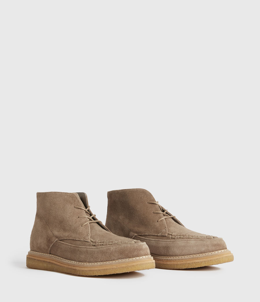 Men's Leon Suede Boots (charcoal_grey) - Image 3