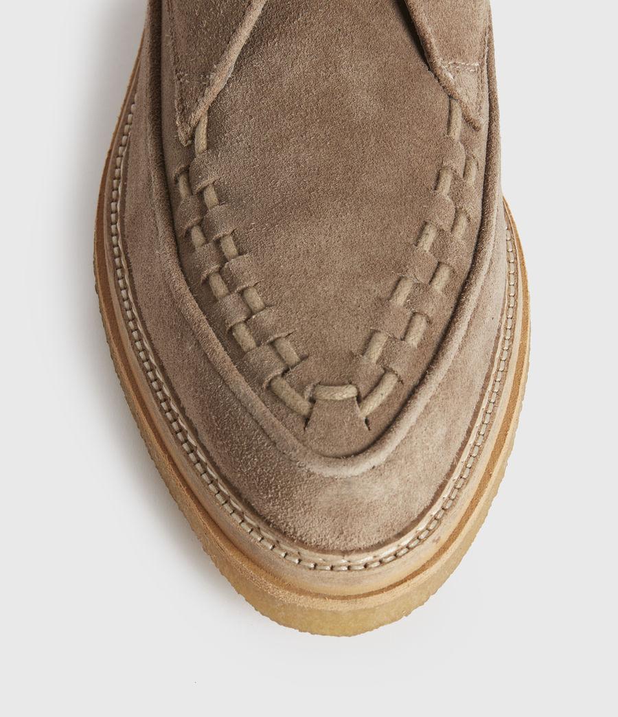 Men's Leon Suede Boots (charcoal_grey) - Image 4