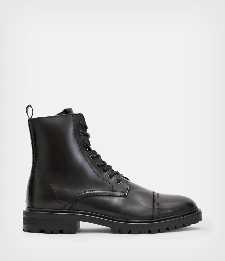 Men's Piero Leather Boots (black) - Image 1