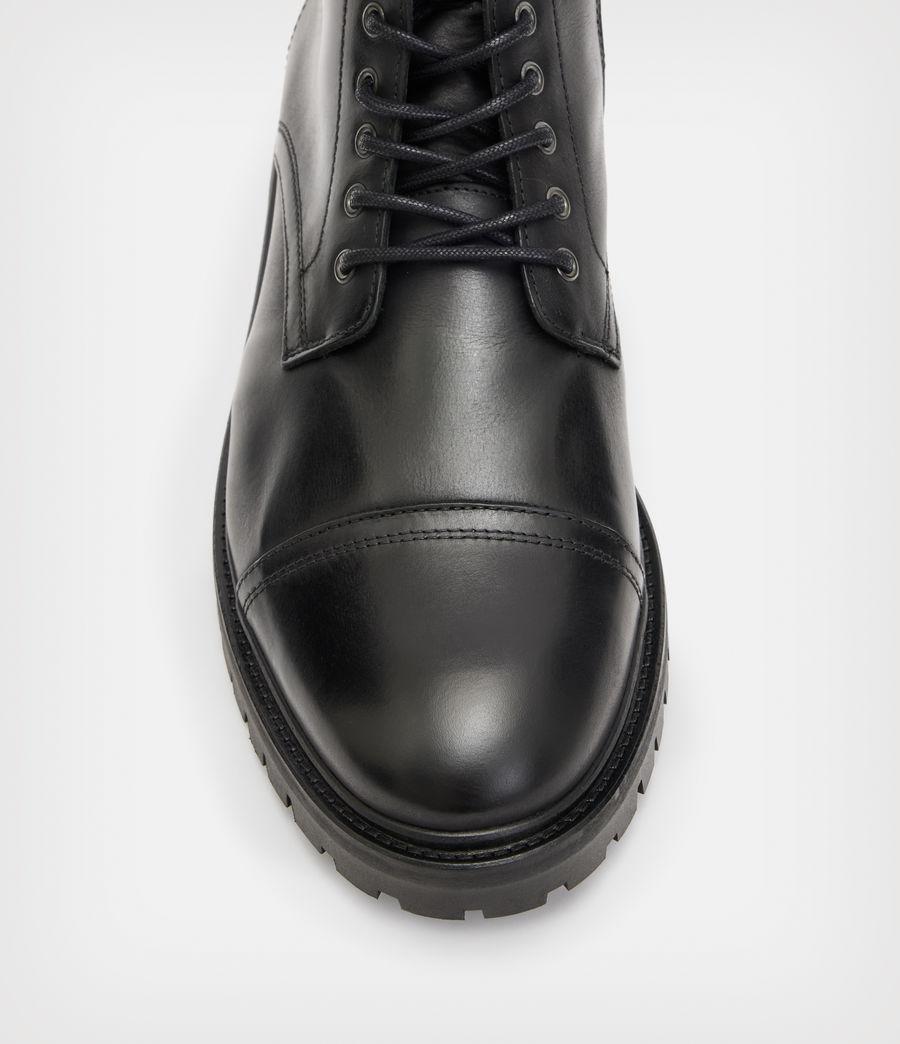 Men's Piero Leather Boots (black) - Image 3
