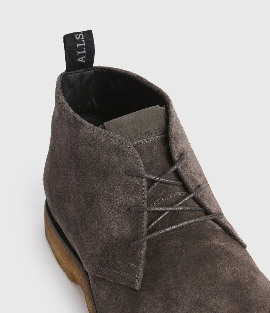 Men's Luke Suede Boot (charcoal_grey) - Image 2