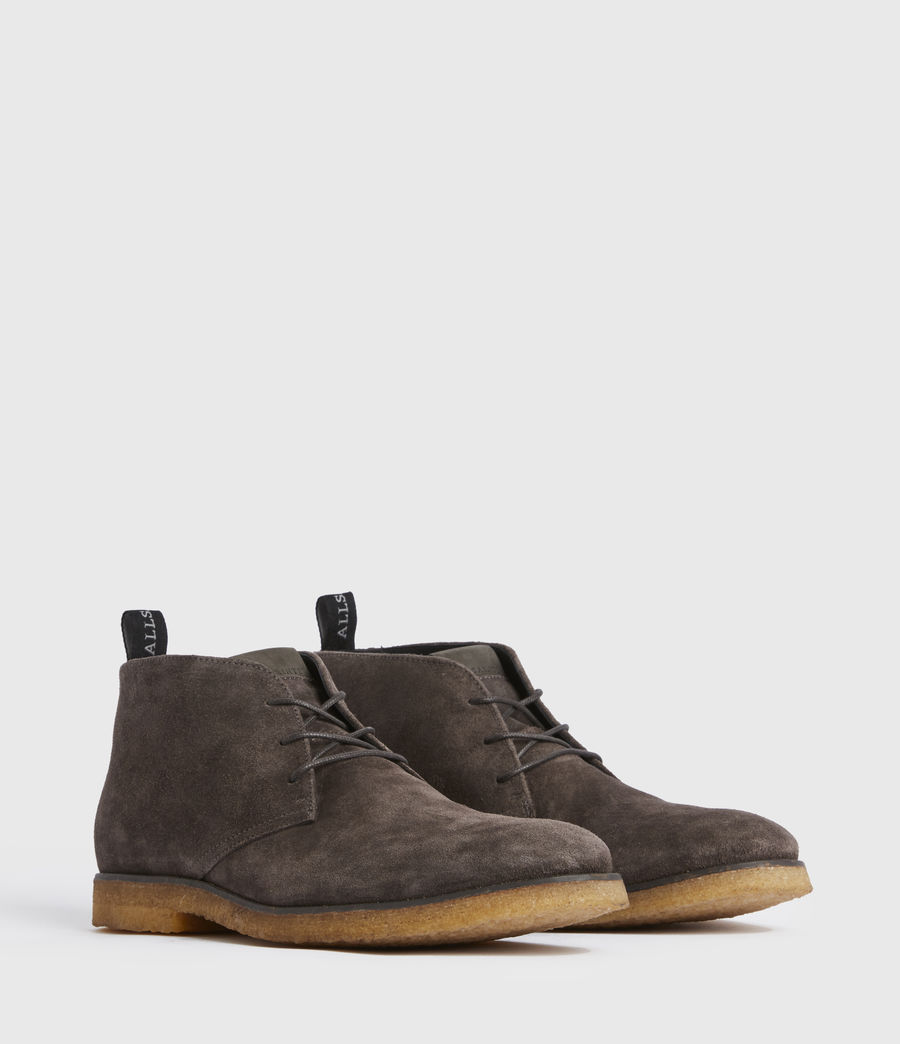 Men's Luke Suede Boot (charcoal_grey) - Image 3