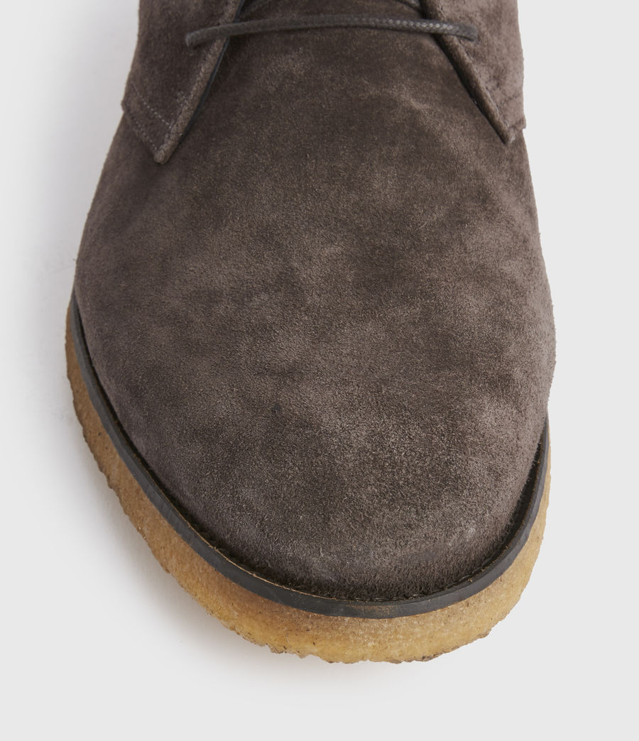 Men's Luke Suede Boot (charcoal_grey) - Image 4