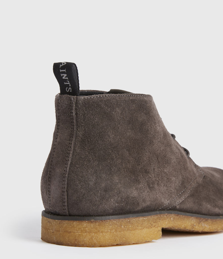 Men's Luke Suede Boot (charcoal_grey) - Image 5
