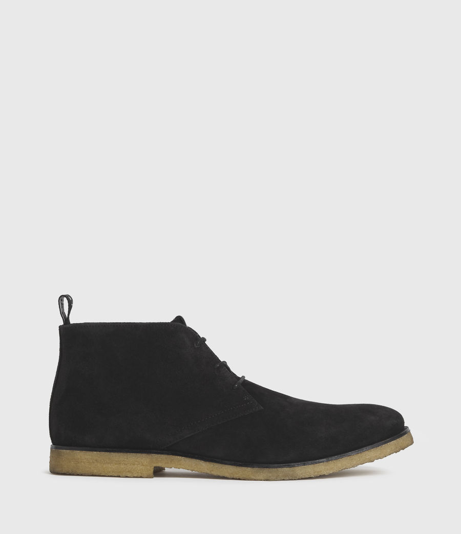 Hombre Luke Suede Boots (black) - Image 1