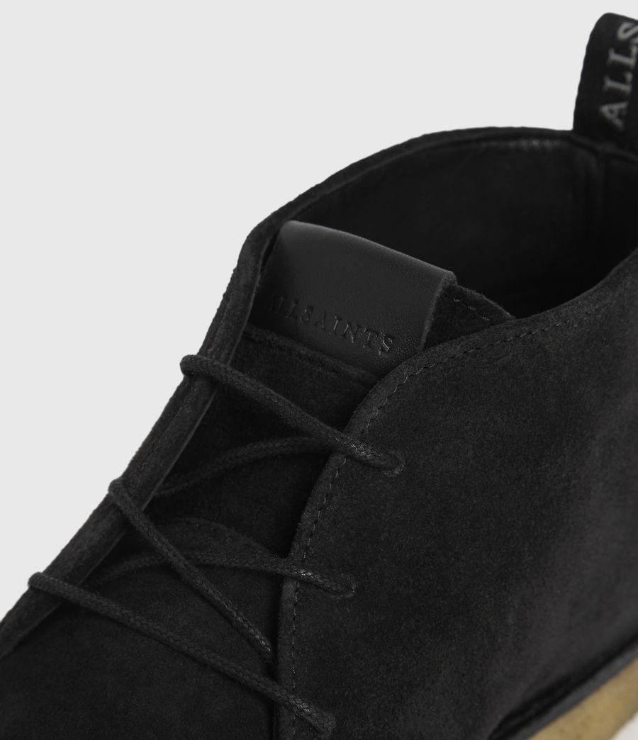 Hombre Luke Suede Boots (black) - Image 2