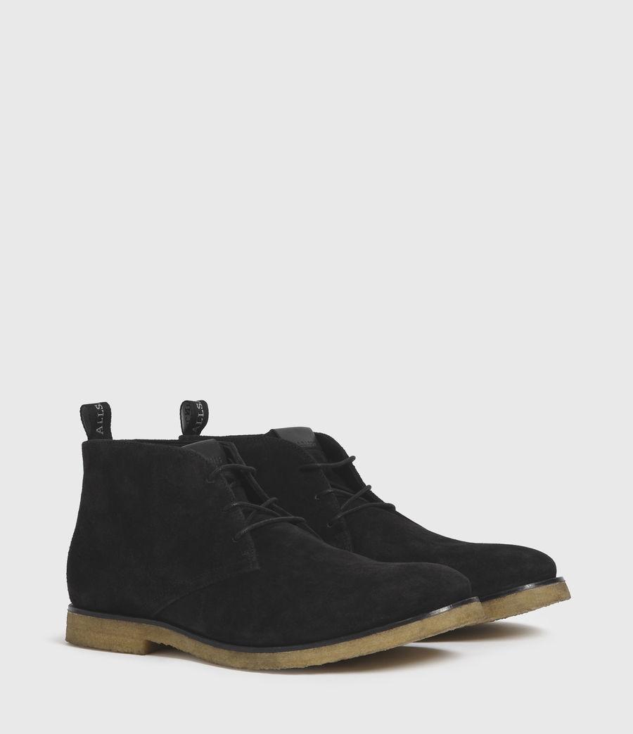 Hombre Luke Suede Boots (black) - Image 3