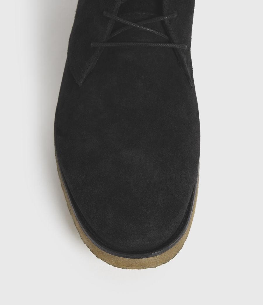 Hombre Luke Suede Boots (black) - Image 4