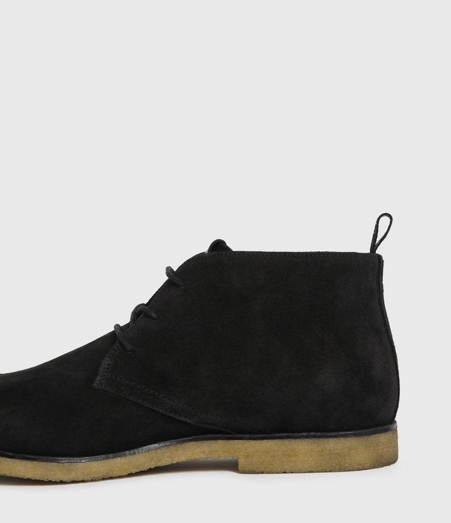 Hombre Luke Suede Boots (black) - Image 5