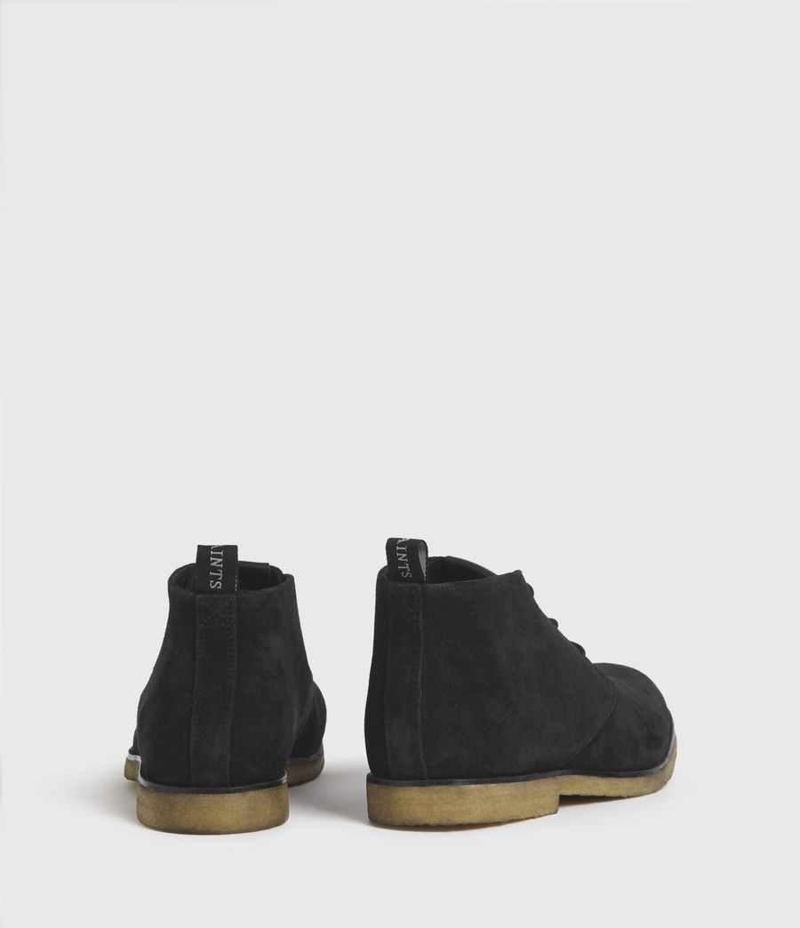 Hombre Luke Suede Boots (black) - Image 6