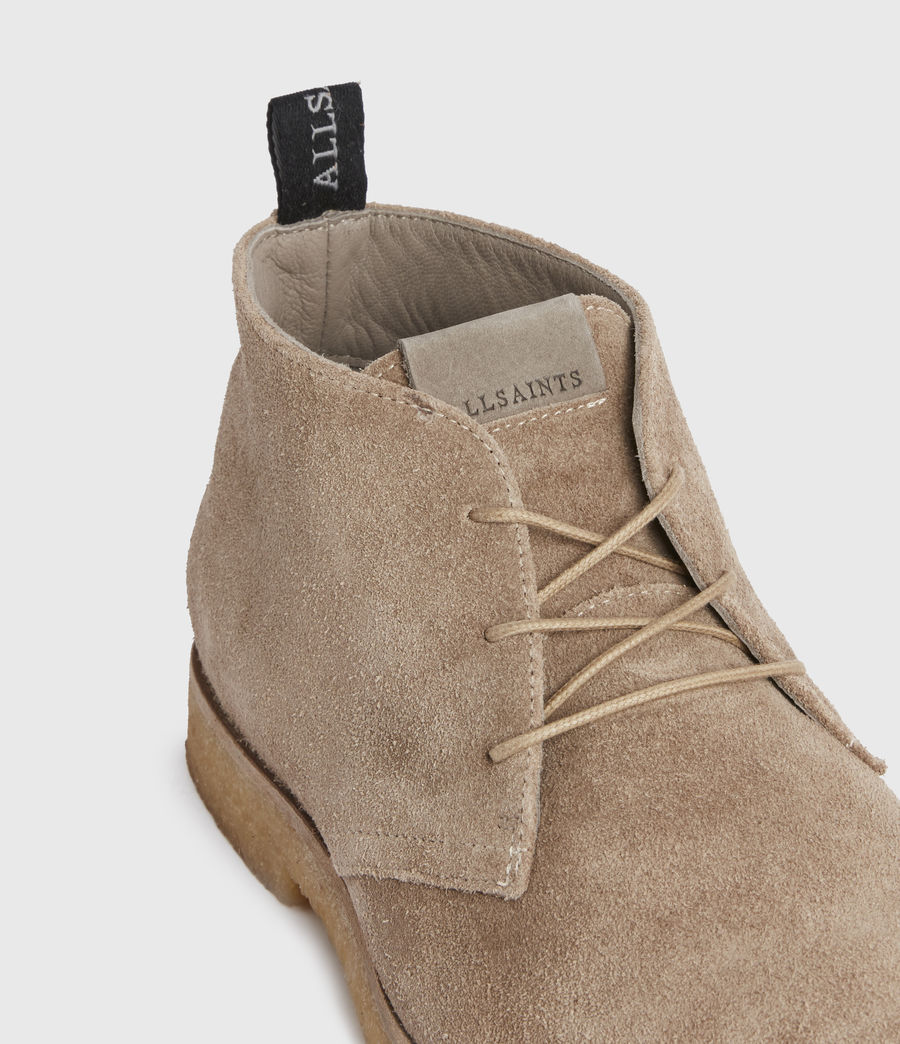 Mens Luke Suede Boots (charcoal_grey) - Image 2