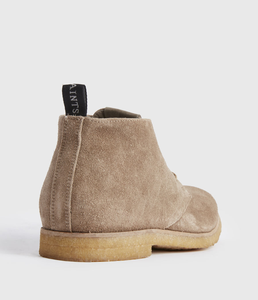 Men's Luke Suede Boots (taupe) - Image 5