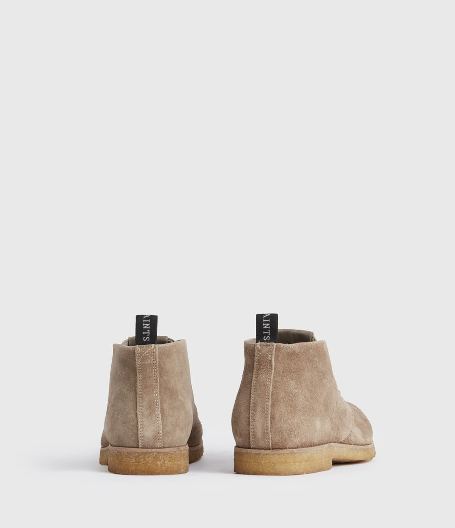 Men's Luke Suede Boots (taupe) - Image 6