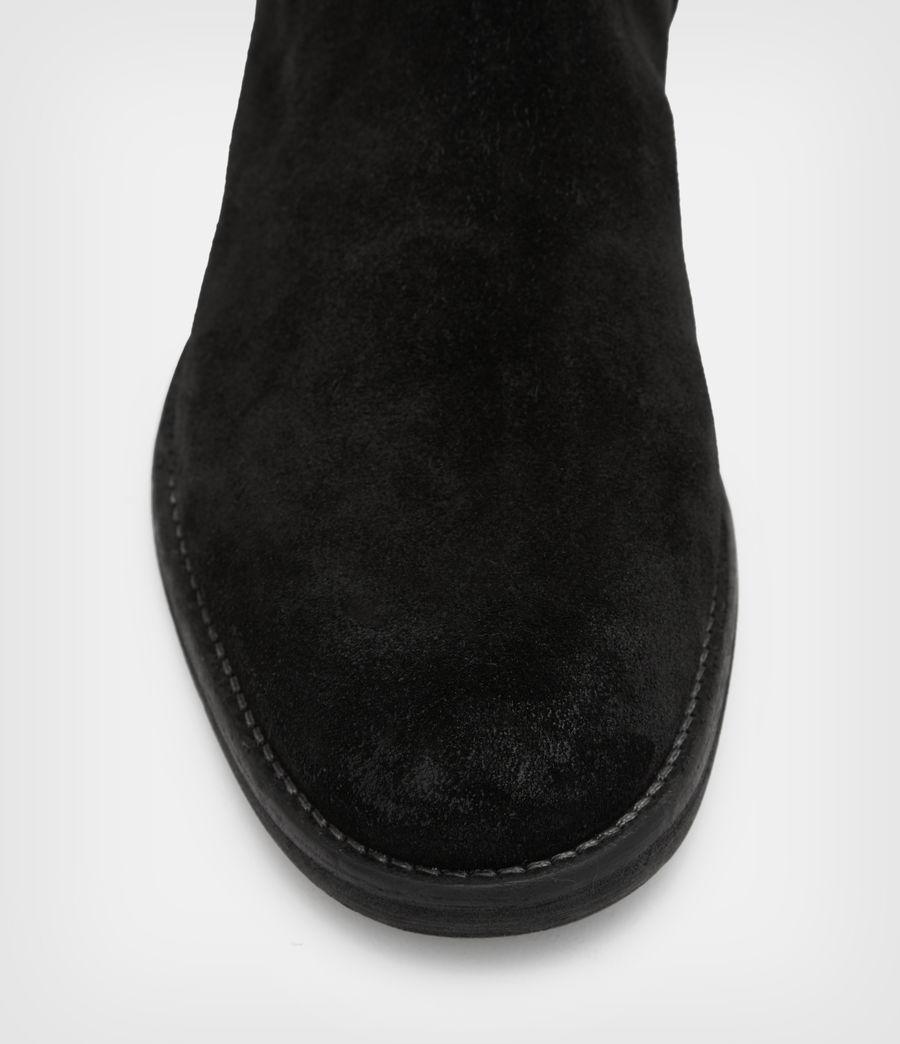 Men's Harley Suede Boots (black) - Image 2