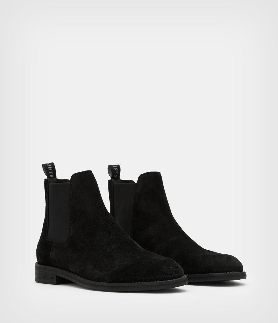 Men's Harley Suede Boots (black) - Image 3