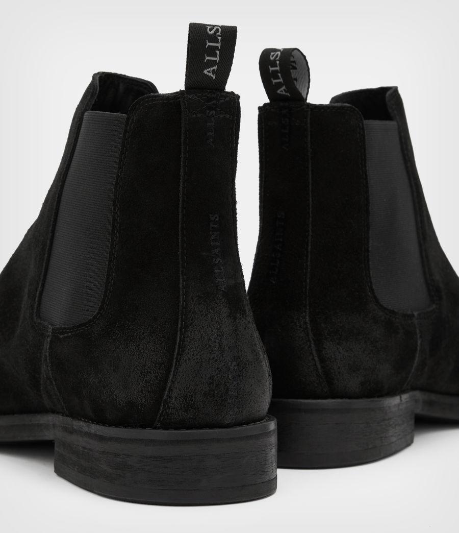 Men's Harley Suede Boots (black) - Image 4