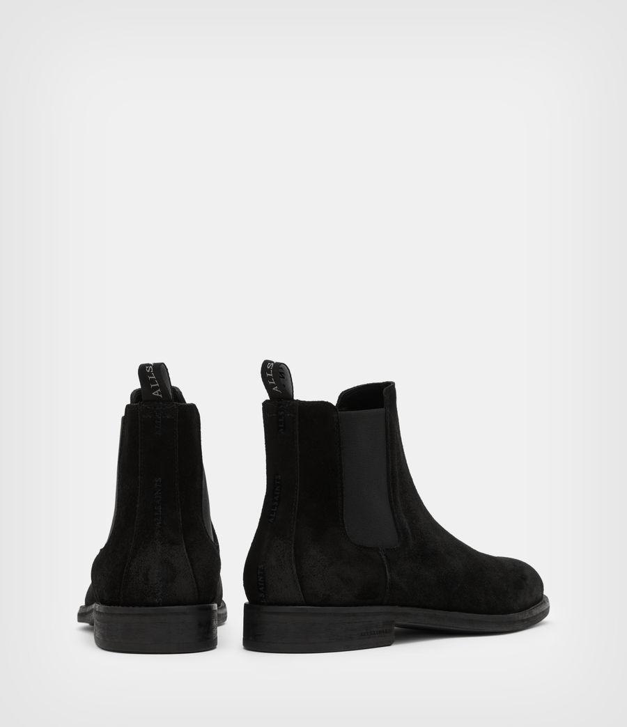 Men's Harley Suede Boots (black) - Image 5