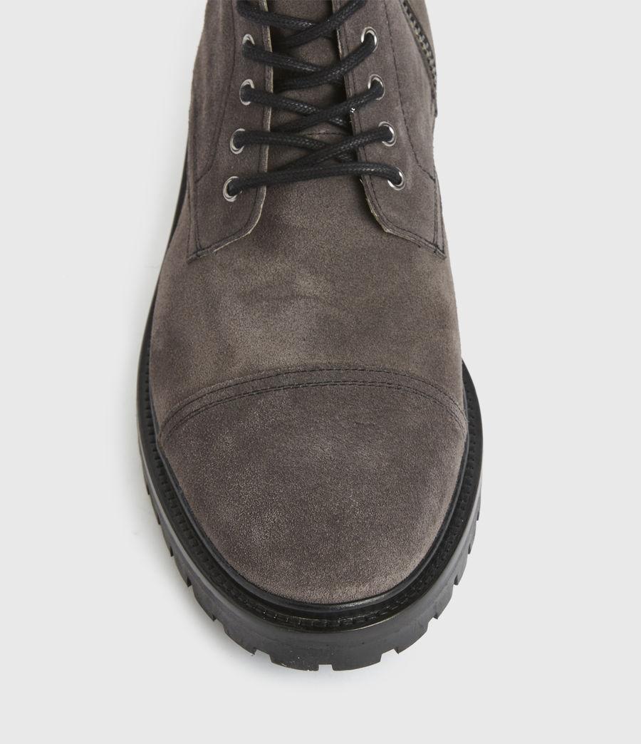 Men's Piero Suede Boots (charcoal_grey) - Image 4
