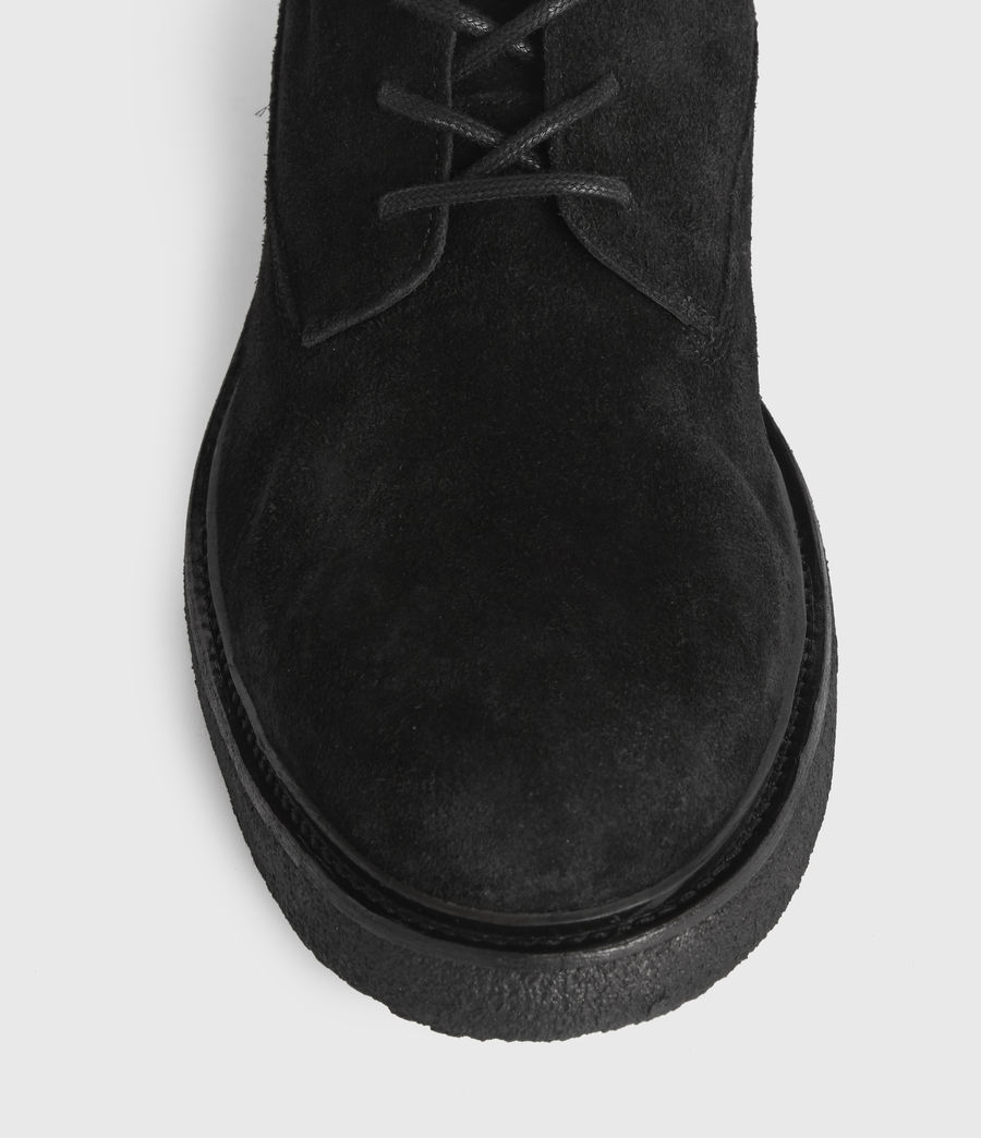 Mens Marco Suede Boots (black) - Image 1