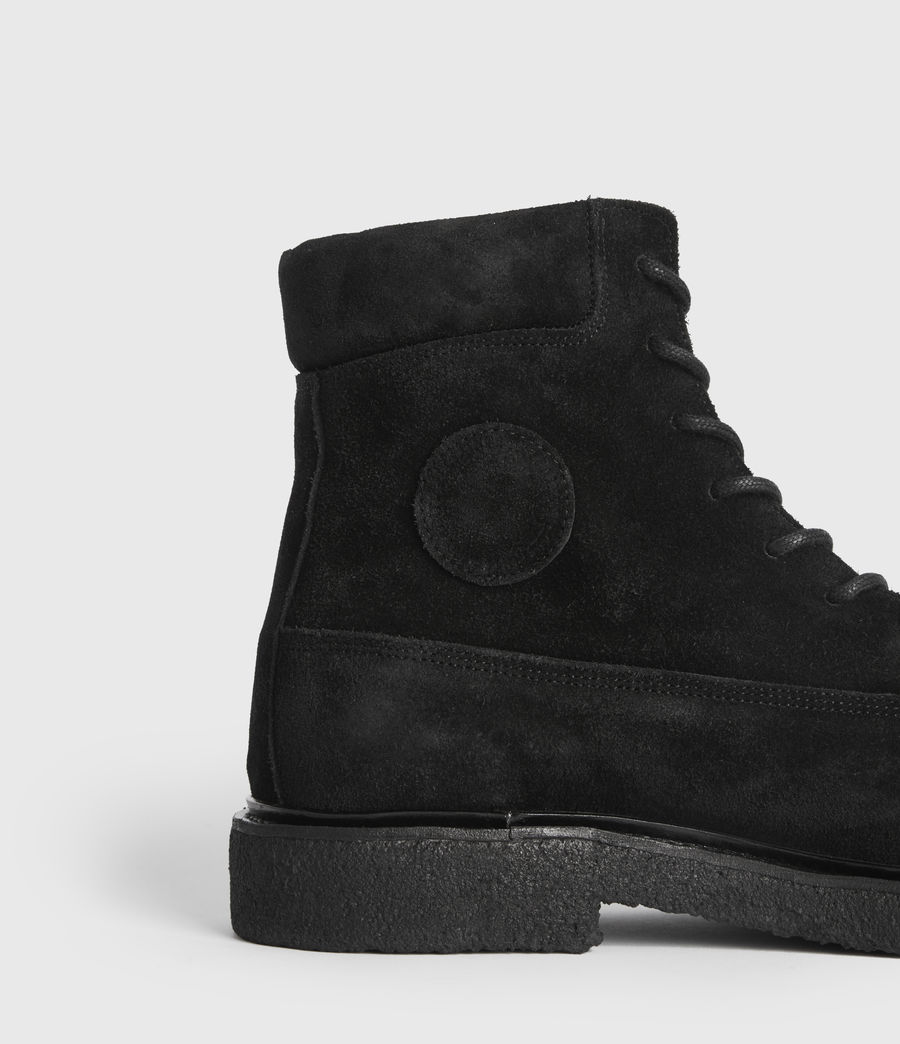 Mens Marco Suede Boots (black) - Image 2