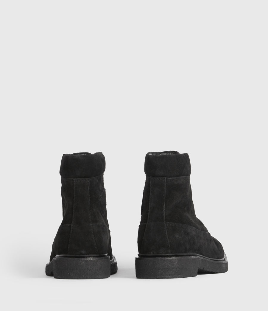 Mens Marco Suede Boots (black) - Image 3