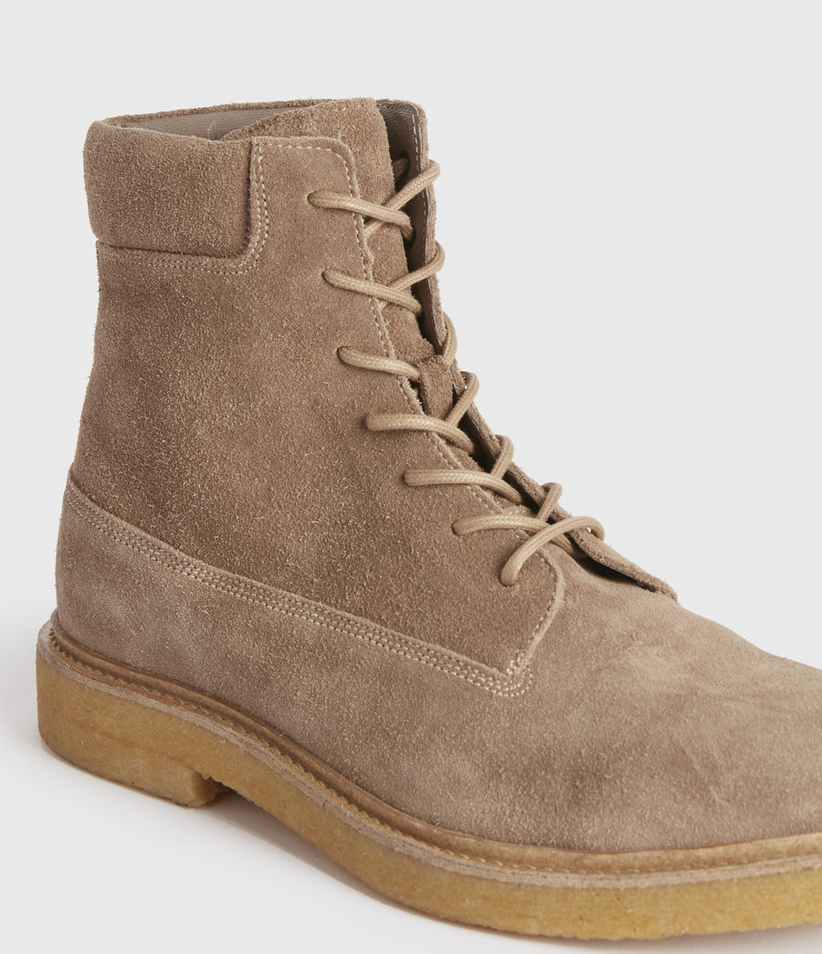 Hombres Marco Suede Boots (taupe) - Image 1