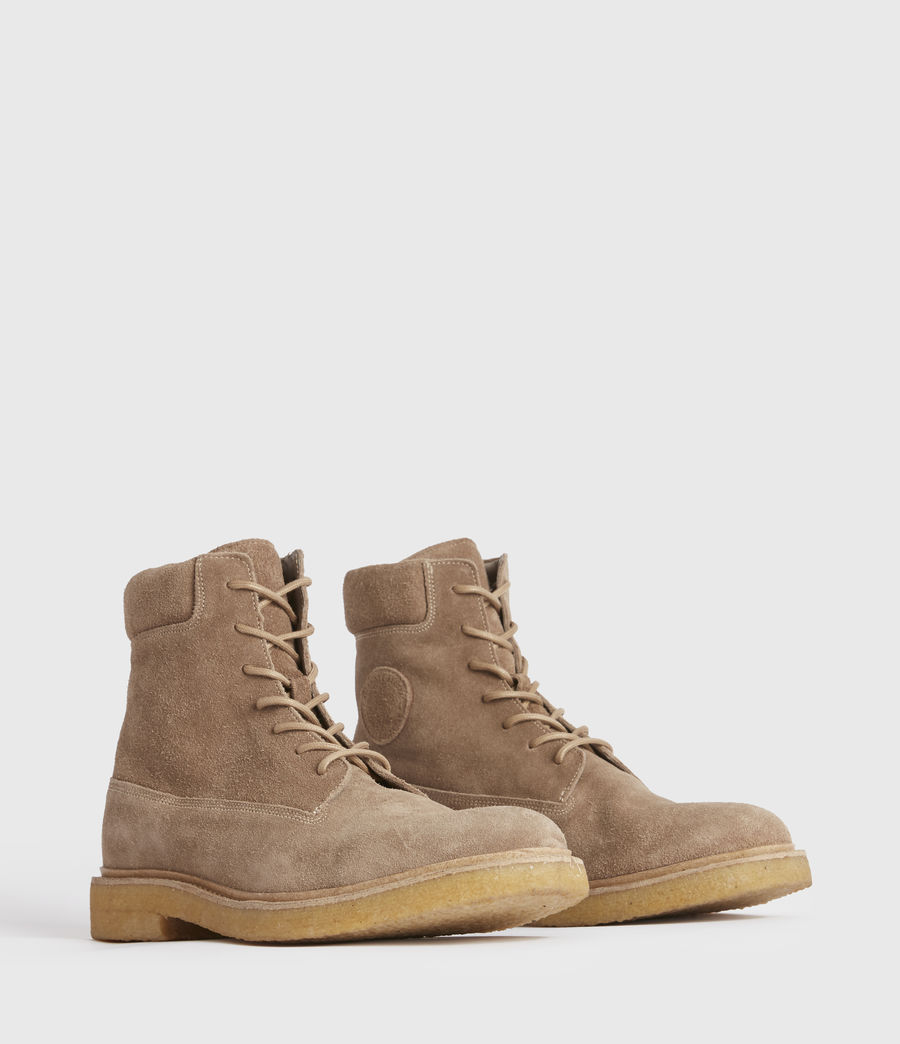 Hombres Marco Suede Boots (taupe) - Image 2
