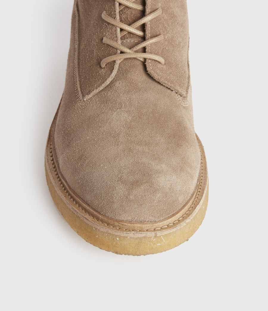 Hombres Marco Suede Boots (taupe) - Image 3