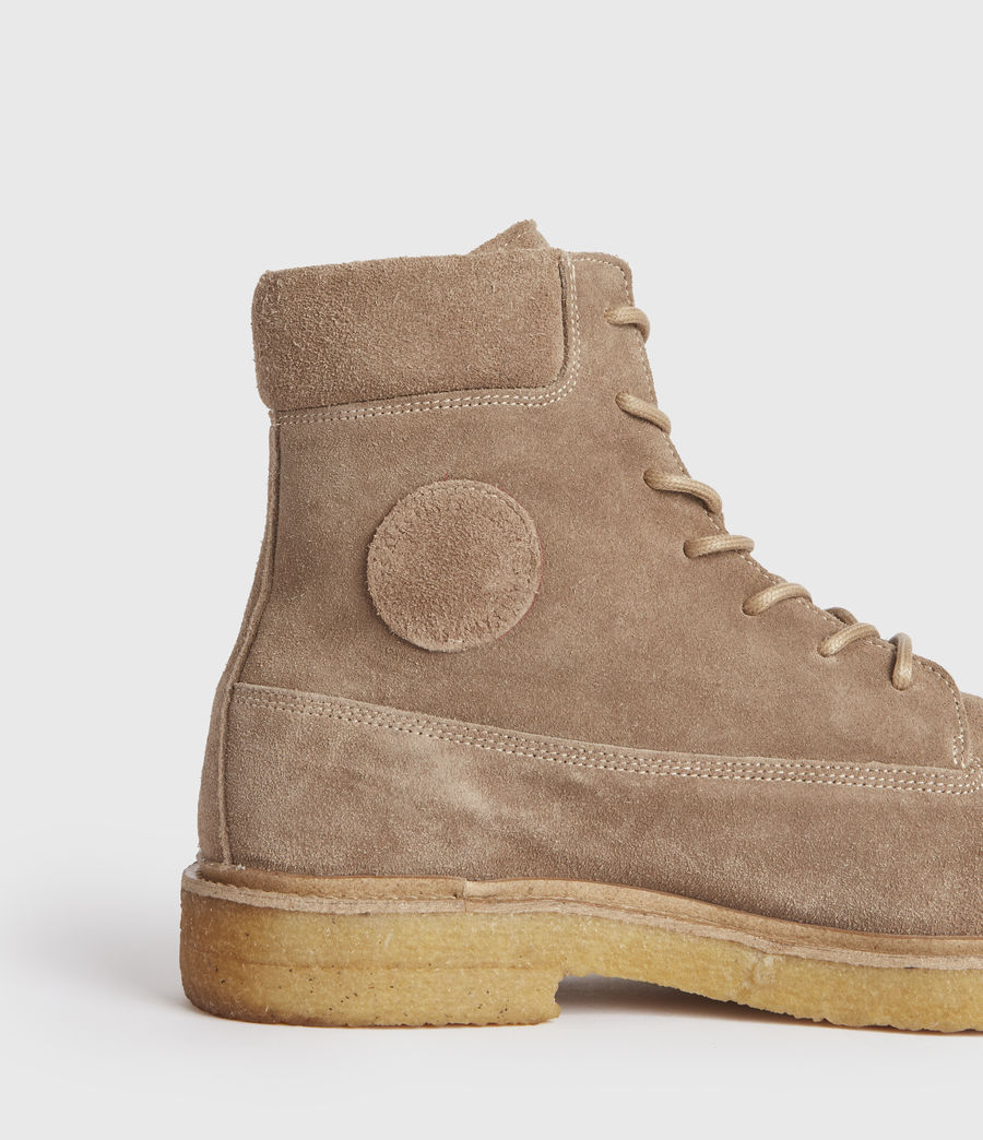 Hombres Marco Suede Boots (taupe) - Image 4