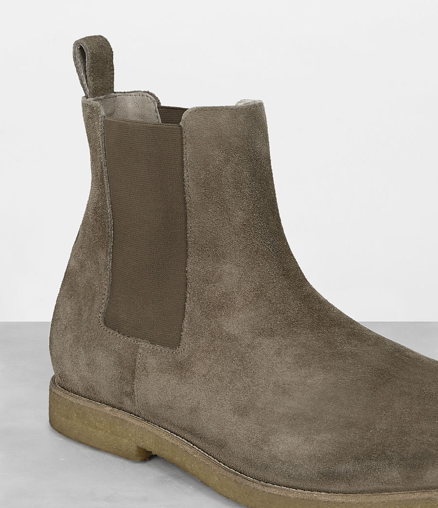 Mens Reiner Chelsea Boot (taupe) - Image 2