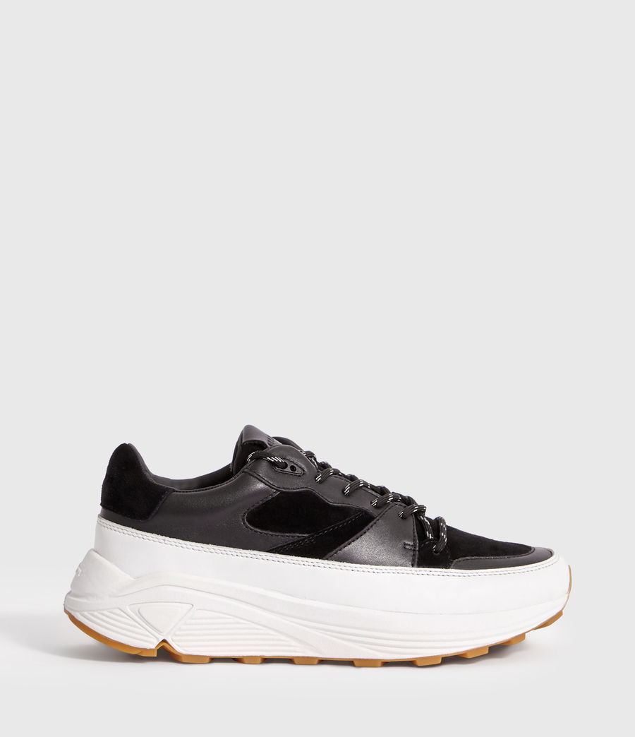 Uomo Sneakers Walker - In pelle con suola spessa (chalk_white_black) - Image 1