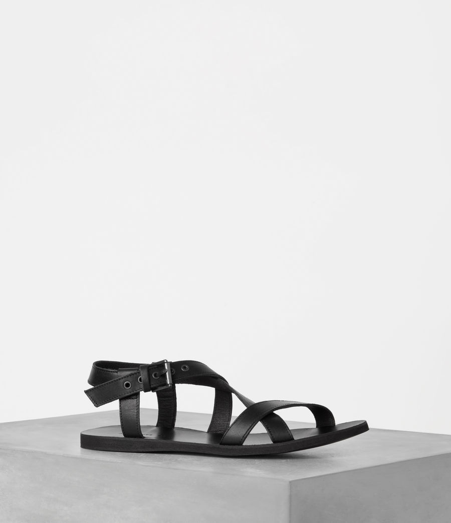 Men's Rile Sandal (black) - Image 1