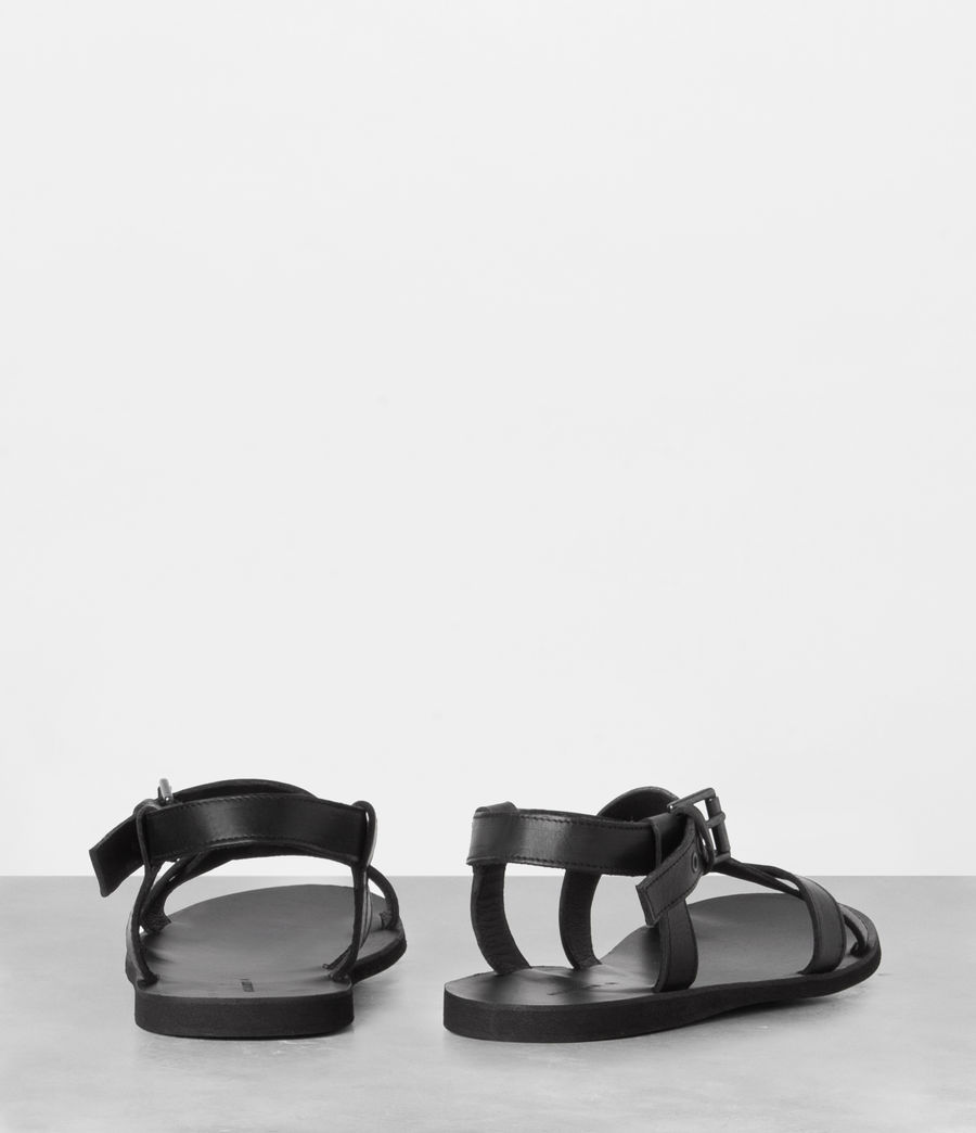 Men's Rile Sandal (black) - Image 4