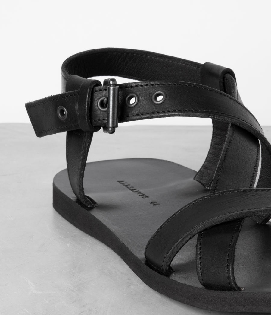Men's Rile Sandal (black) - Image 5