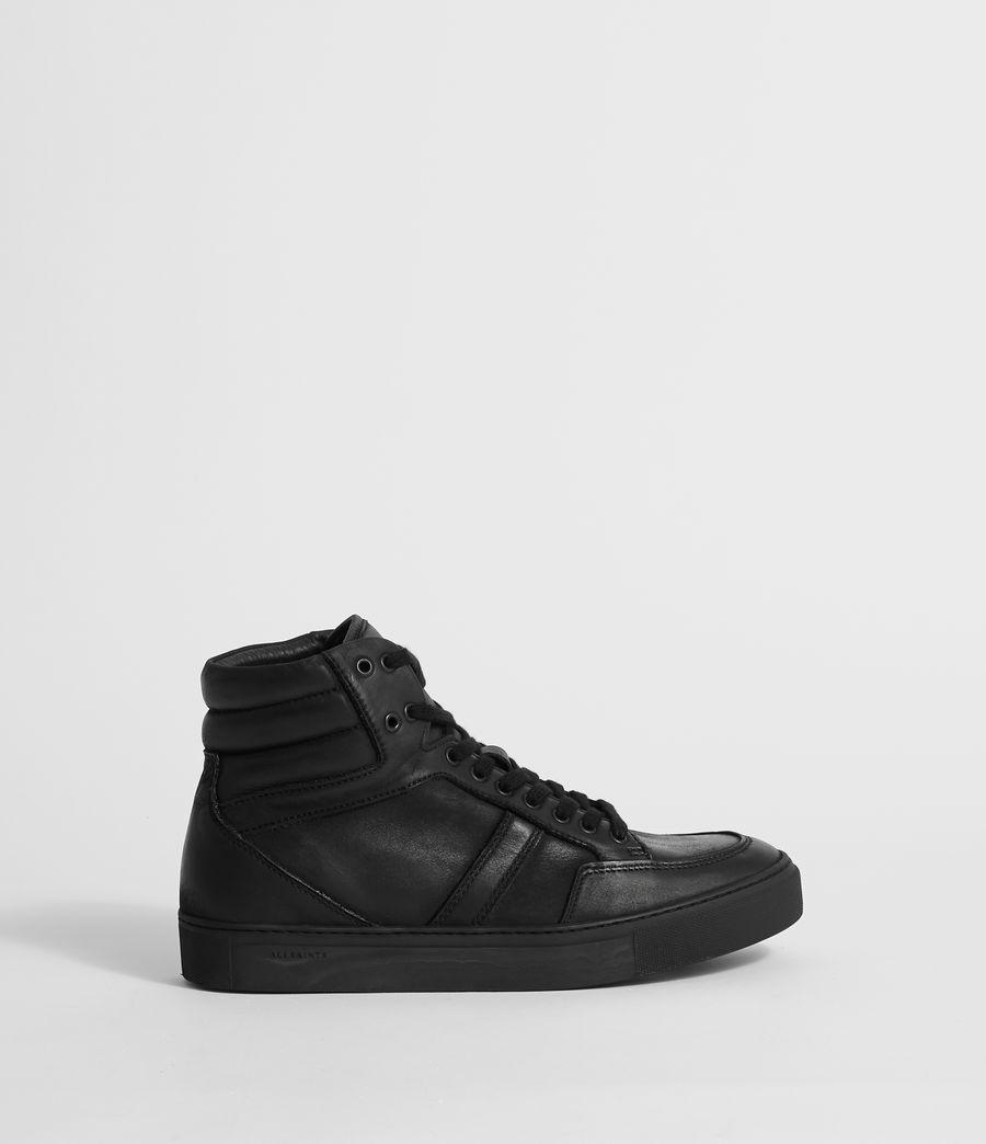 Hombres Zapatillas de Piel Tilt High Top (black) - Image 1