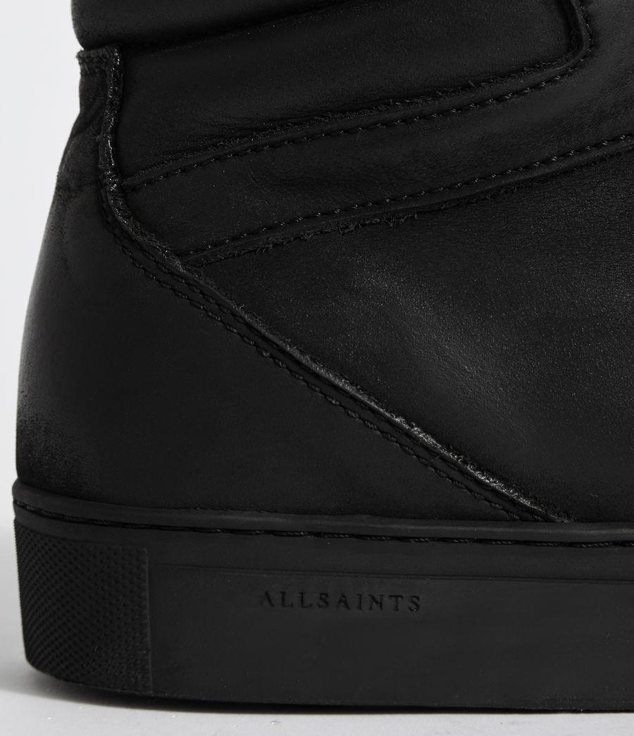 Hombres Zapatillas de Piel Tilt High Top (black) - Image 2