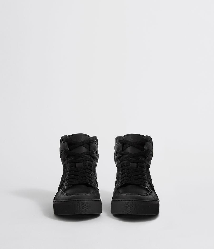 Hombres Zapatillas de Piel Tilt High Top (black) - Image 4