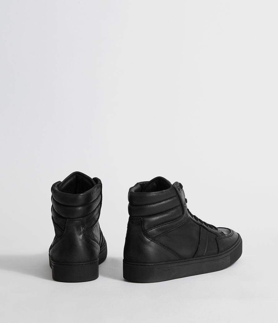 Hombres Zapatillas de Piel Tilt High Top (black) - Image 5