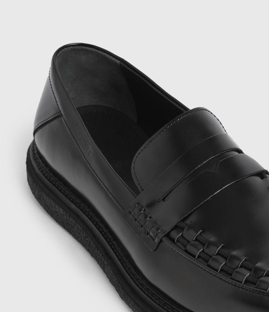 Uomo Mocassini Max - In pelle (black) - Image 2