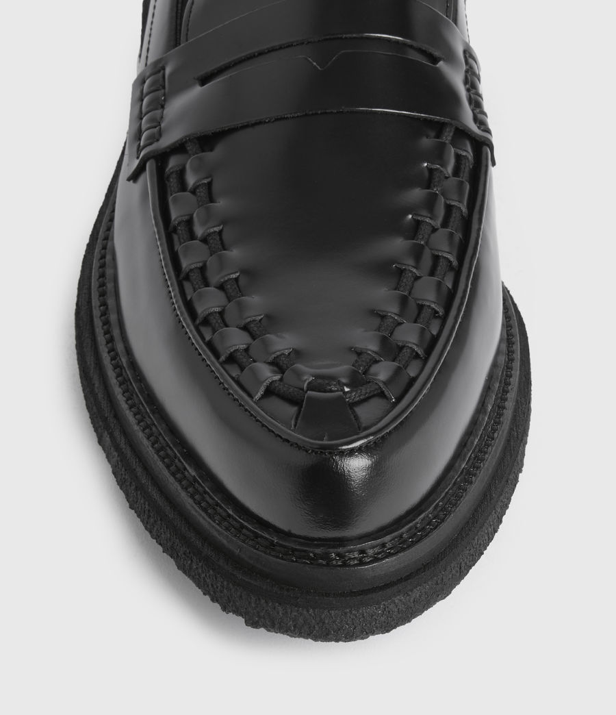 Uomo Mocassini Max - In pelle (black) - Image 4