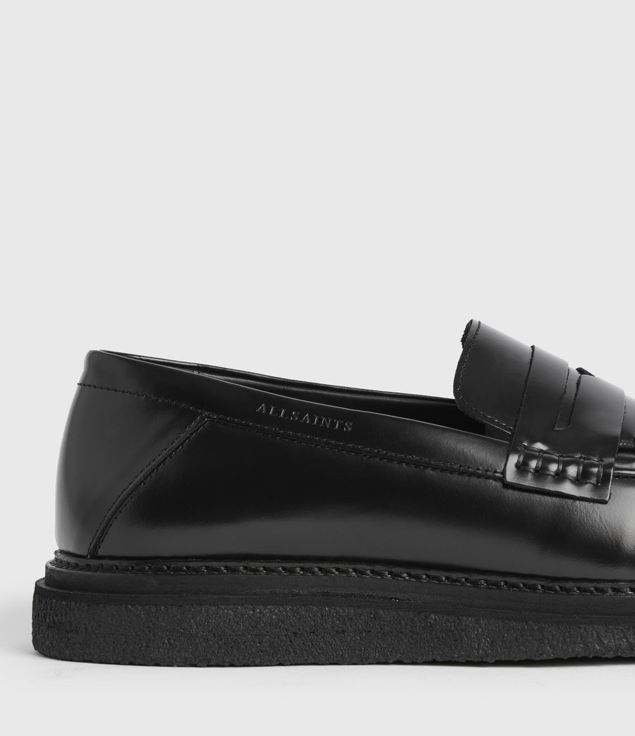 Uomo Mocassini Max - In pelle (black) - Image 5