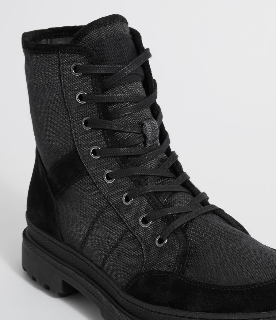 Hommes Boots Traction (black) - Image 5