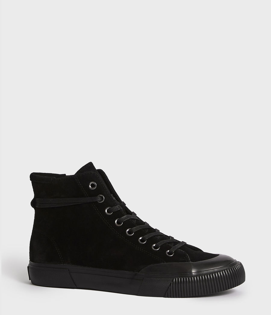 Men's Dumont Hightop Trainer (black) - Image 3