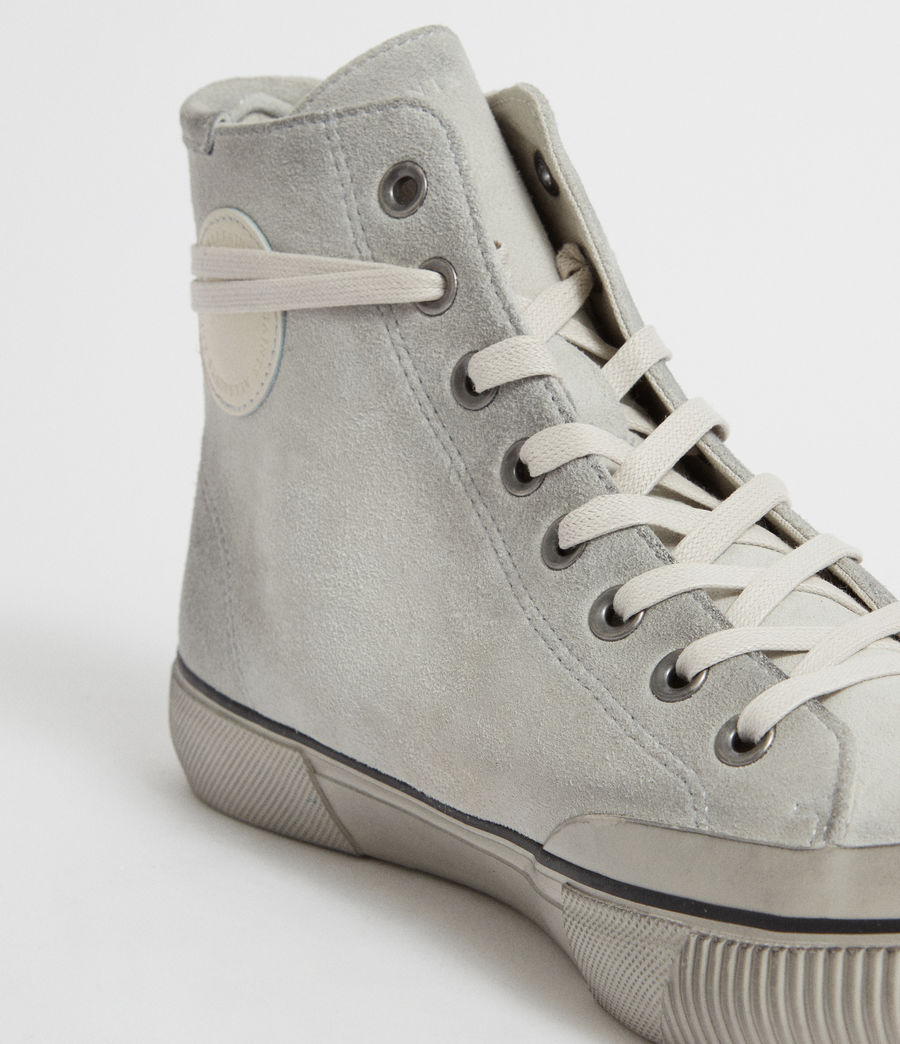 Mens Dumont Hightop Trainer (chalk) - Image 2