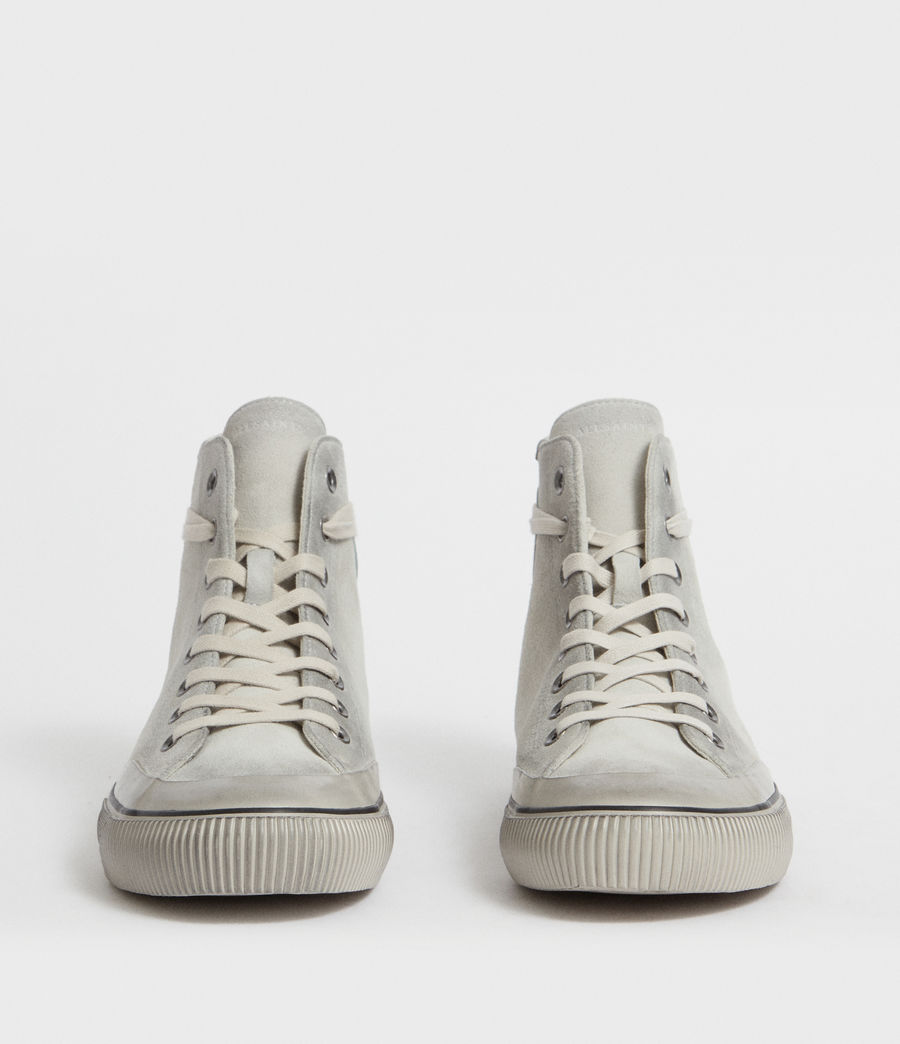Mens Dumont Hightop Trainer (chalk) - Image 4