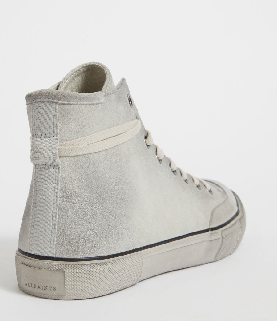 Mens Dumont Hightop Trainer (chalk) - Image 6