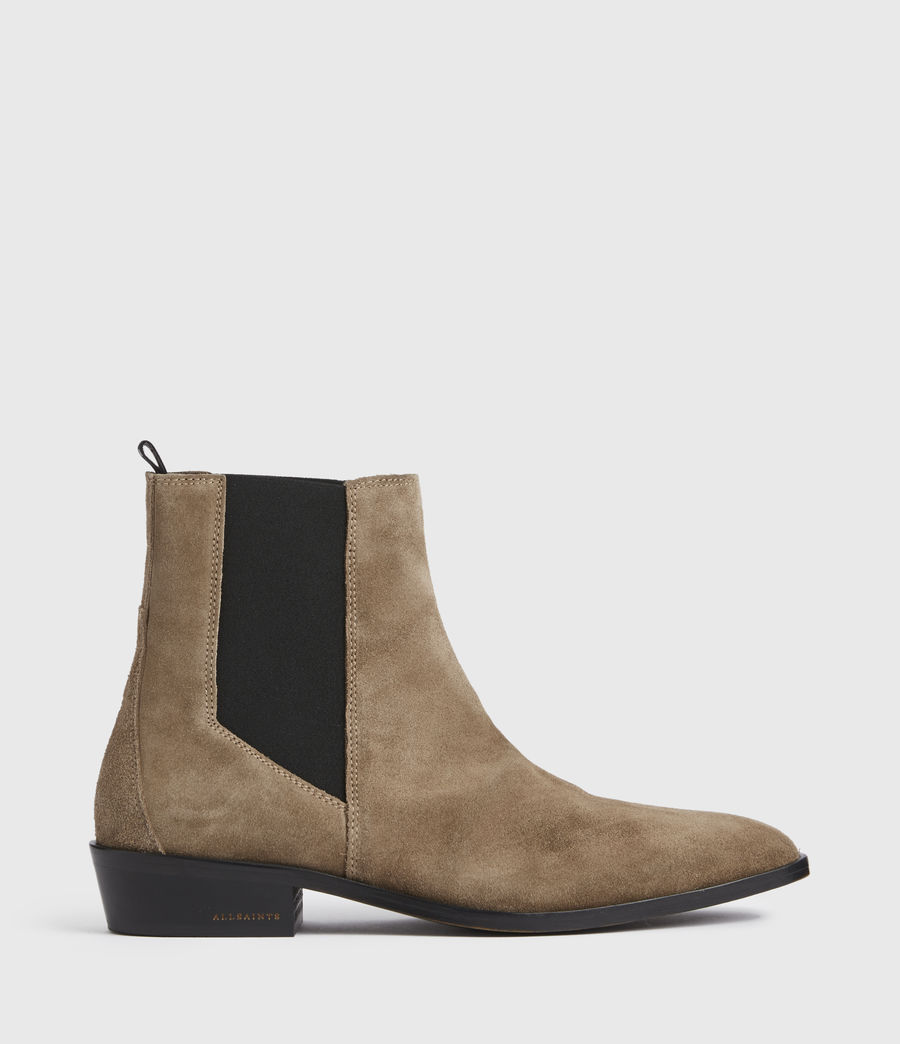Mens Markus Suede Boots (taupe) - Image 1