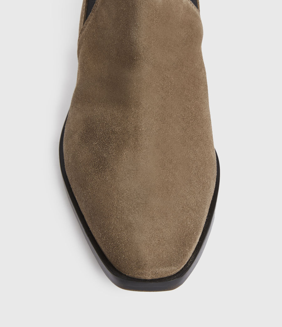 Mens Markus Suede Boots (taupe) - Image 2