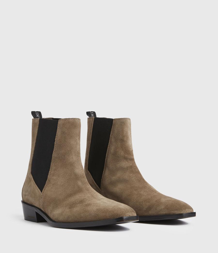 Men's Markus Suede Boots (taupe) - Image 3
